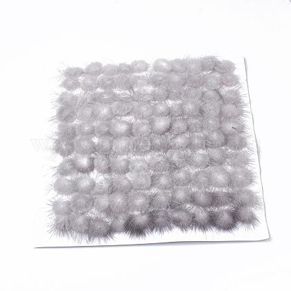 Faux Mink Fur Ball DecorationX-FIND-S267-4cm-11-1