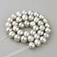 Hebras de perlas de agua dulce cultivadas naturalesPEAR-R065-14-2