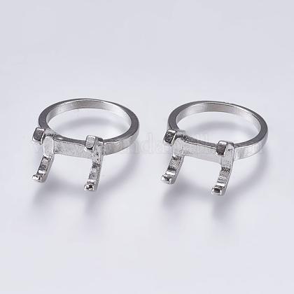 Aleación de garras de anillo de dedoX-PALLOY-K143-18P-1