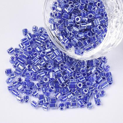 8/0 de dos abalorios de la semilla de cristal talladoSEED-S033-10A-02-1