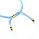 Adjustable Faux Suede Cord NecklacesNJEW-JN02353-04-3