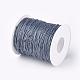 Cordones de hilo de algodón enceradoYC-R003-1.0mm-319-2