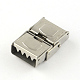 Smooth Surface 201 Stainless Steel Watch Band Clasps STAS-R063-80-3