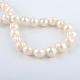 Hebras de perlas de agua dulce cultivadas naturalesPEAR-R015-42-1