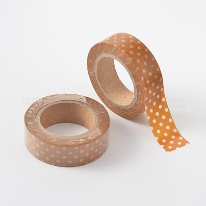 Polka Dot Pattern DIY Scrapbook Decorative Adhesive TapesDIY-F003-07-1