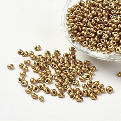 Granos de semillas de vidrio opacoX-SEED-R032-A15-1