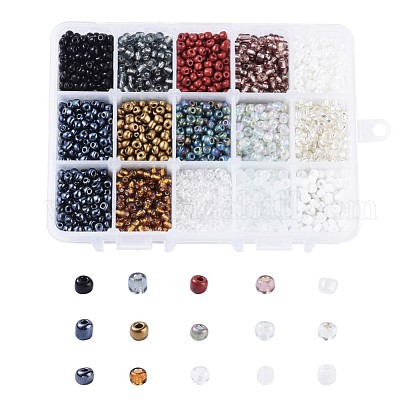 6/0 Glass Seed BeadsSEED-JP0009-01-4mm-1
