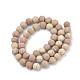 Natural Wood Lace Stone Beads StrandsG-T106-263-3