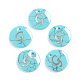 Synthetic Turquoise Charms G-L561-001G-1