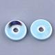 Abalorios de porcelana hechas a manoX-PORC-S498-54-3