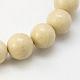 Natural Fossil Beads StrandsG-E110-10mm-2-1