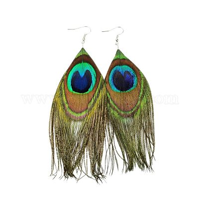 Carnival Costume Ring Colourful Ring Mardi Gras Jewelry Costume Fiesta Jewelry Peacock Feather Ring Green Ring Tropical Bird Ring