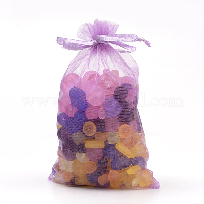 Organza Gift Bags with DrawstringOP-R016-10x15cm-22-1