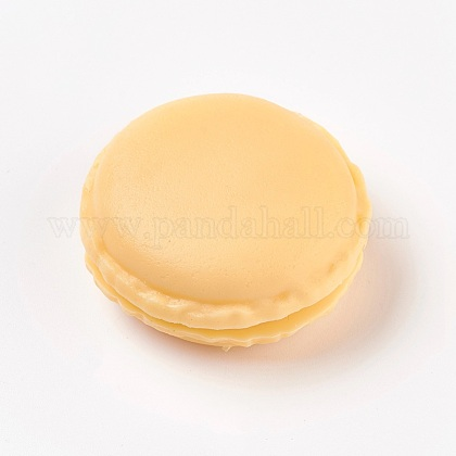Mallette de transport de bague/collier bijoux de mini macarons mignons de couleur bonbon portableX-CON-WH0038-A01-1