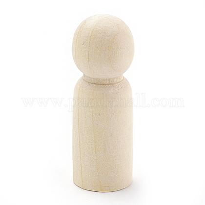 Niño de madera en blanco inacabadoX-WOOD-S040-85B-1