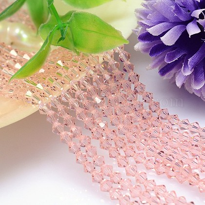 Faceted Imitation Austrian Crystal Bead Strands G-M180-8mm-30A-1