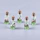 Decoraciones pendientes de cristal de la botella que deseaGLAA-S181-02F-1