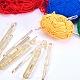 プラスチック製のかぎ針編み針TOOL-BC0008-04-6