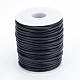 ポリ塩化ビニールの管状のソリッド合成ゴム製コード, 白いプラスチックのスプールに巻き, 穴がない, ブラック, 4ミリメートル、約15 M /ロール