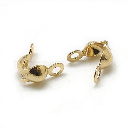 Brass Bead TipsKK-T032-153G-1