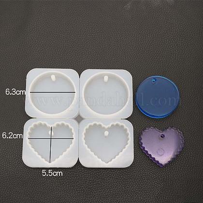 Moldes colgantes de siliconaDIY-K013-02-1