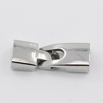 滑らかな304ステンレス製のスナップロッククラスプSTAS-K011-01-1