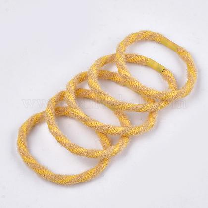 Accesorios para el cabello de lana de imitación para niñasOHAR-S190-15C-1