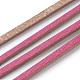 Cuerdas de cuero de imitación de una sola cara planasLC-T002-09-22-2