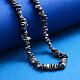 Hebras de perlas keshi de perlas barrocas naturalesPEAR-Q004-33A-5