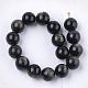 Natural Golden Sheen Obsidian Beads StrandsG-S333-10mm-025-2