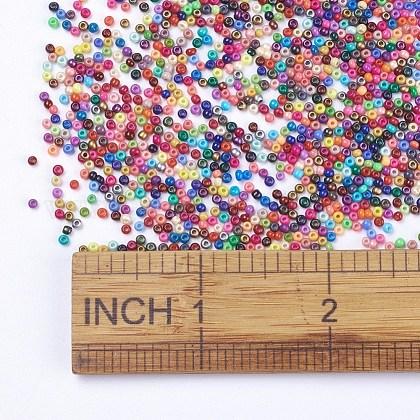FGB® 13/0 cuisson peinture perles rocailles en verreSEED-N001-AM-1