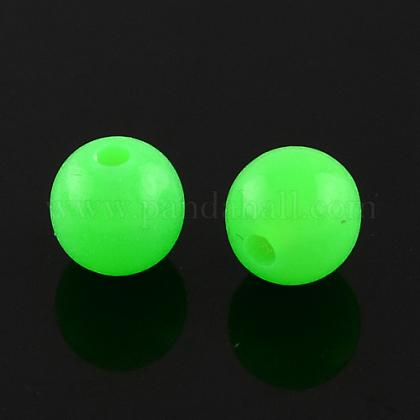 Perlas de acrílico fluorescentesMACR-R517-8mm-07-1