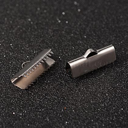 304ステンレス鋼リボンカシメエンドパーツSTAS-K124-07P-1