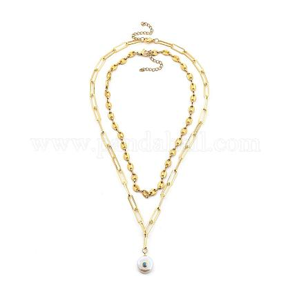 Anhänger Halsketten SetsNJEW-JN03052-02-1