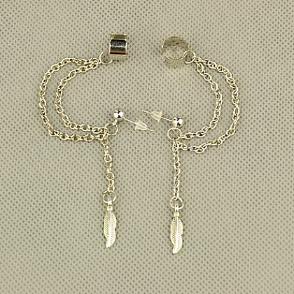 Fashion Tibetan Style Ear Cuff EarringEJEW-JE00561-10-1
