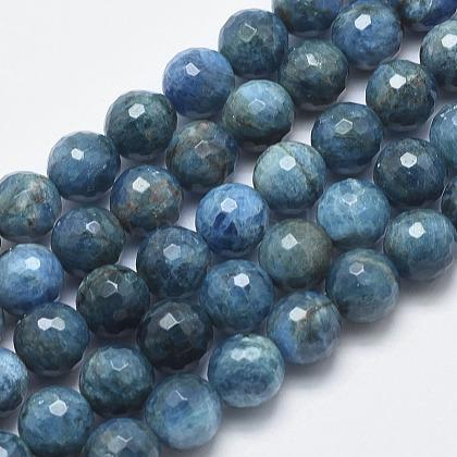 Natural Apatite Beads StrandsG-F547-37-10mm-1