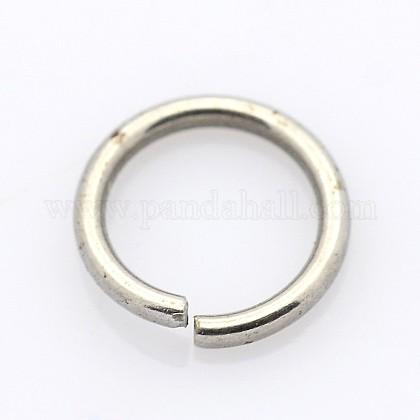 304 acero inoxidable anillos de salto cerrados pero no soldadosSTAS-E067-04-4.5mm-1
