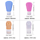 Creative Portable Silicone Travel Points Bottle Sets MRMJ-BC0001-06-2