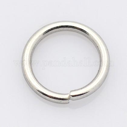 304 acero inoxidable anillos de salto cerrados pero no soldadosSTAS-E067-05-5.5mm-1