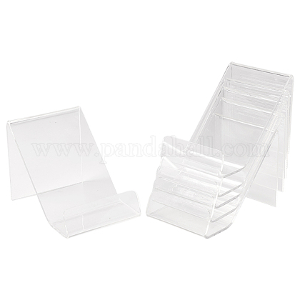Soportes de exhibición de acrílico del libroODIS-WH0004-01-1