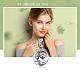 Abalorios de plata de ley 925 europea cuelganSTER-FF0009-34AS-9