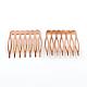 Accesorios de pelo cabello fornituras de peines de pelo de hierroOHAR-Q042-002-1