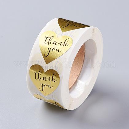 Etiquetas autoadhesivas de etiquetas de regalo de papel kraftDIY-G021-13C-1