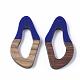 Colgantes de resina y madera de nogalRESI-S358-25B-2