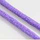 Macrame Rattail Chinese Knot Making Cords Round Nylon Braided String ThreadsX-NWIR-O001-A-09-2