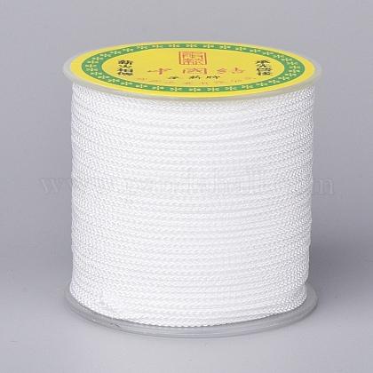 Cordón trenzado de poliéster para hacer joyasOCOR-F011-C12-1
