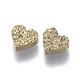 Perlas de resina de piedras preciosas druzy imitaciónX-RESI-L026-D01-1