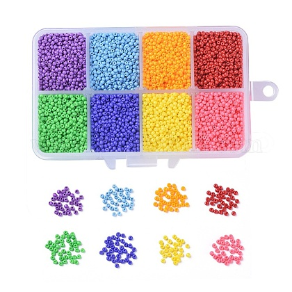 FGB® 12/0 Baking Paint Glass Seed BeadsSEED-JP0008-04-1