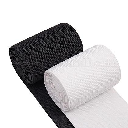 Cordón de goma elástico plano / bandaEC-BC0001-15-1