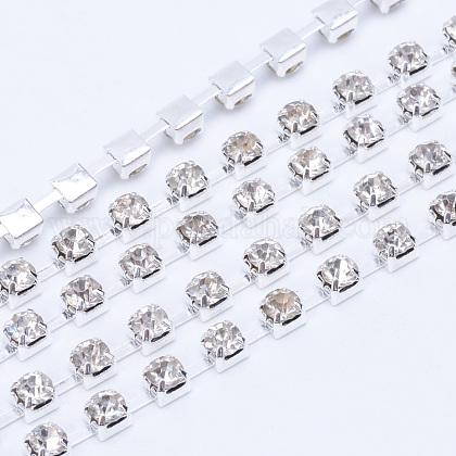 Cadenas de strass Diamante de imitación de bronceCHC-T004-SS8-01S-1